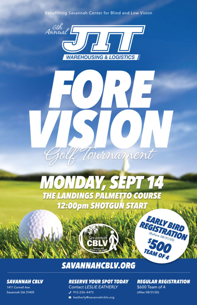 JIT Fore Vision Golf Tournament 2020 Poster