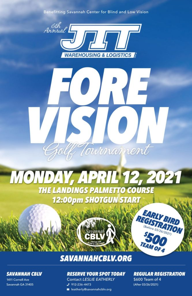 Fore Vision Golf Tournament Poster